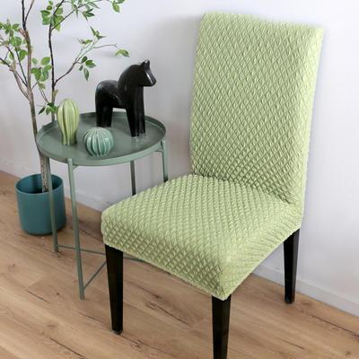 2020新款针织提花椅套 针织提花 浅绿