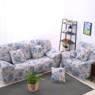 2020新款四季款印花沙发套 单人尺寸90-140cm 含羞草