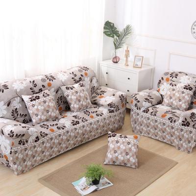 2020新款四季款印花沙发套 单人尺寸90-140cm 花粉世家