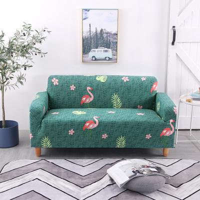 2020新款四季款印花沙发套 单人尺寸90-140cm 火鸟