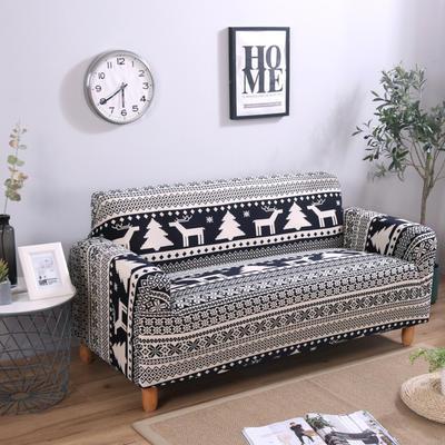 2020新款四季款印花沙发套 单人尺寸90-140cm 美丽印象