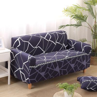 2020新款四季款印花沙发套 单人尺寸90-140cm 水立方
