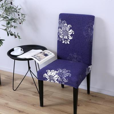 2020新款四季款印花椅套 优雅绽放