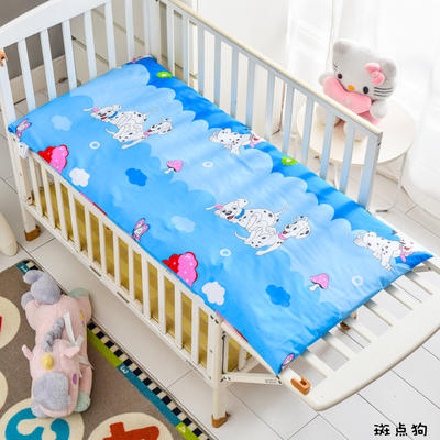 2020新款儿童卡通全棉床垫 幼儿园床垫芯 全棉面料 丝棉棉花床垫芯可定做 60*120硬质棉5cm 斑点狗