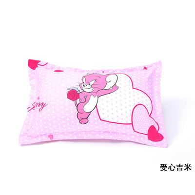 2020新款 厂家直销 全棉面料枕套 幼儿园专用保健枕头 一件代发 批发 30*50cm/个 爱心吉米