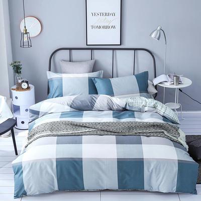 秘语家居新款全棉印花基础款系列 1.8m(6英尺)床 时尚格调