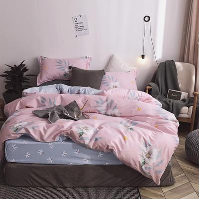 2019新款全棉工艺款四件套 1.8m(6英尺)床 悦颜