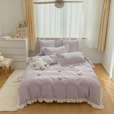 2021新款-40水洗棉四件套 1.2m(4英尺)床 小可爱
