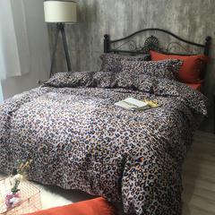 2018-60长绒棉四件套新花型实拍 1.5m(5英尺)床 巴西拉TGH046