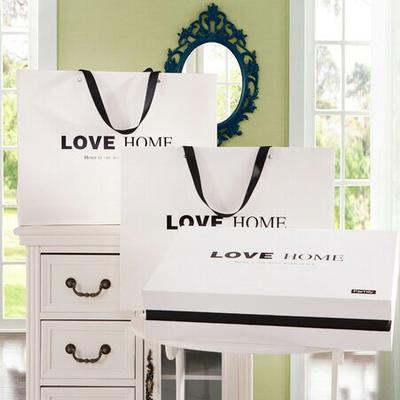 适合天丝、天丝提花、80臻绒的尺寸 适合天丝、天丝提花、80臻绒的尺寸 白色LOVE硬质礼盒