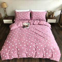全棉磨毛 欧里维 粉 1.8m(6英尺)床 磨毛
