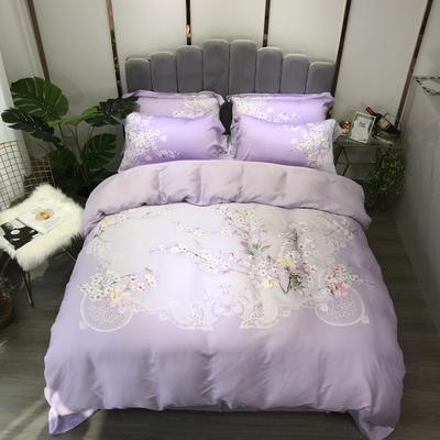 40天丝 悦瑶 紫 1.8m(6英尺)床 悦瑶 紫