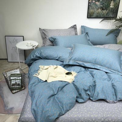磨毛三件套 1.5m(5英尺)床 豹纹-绿