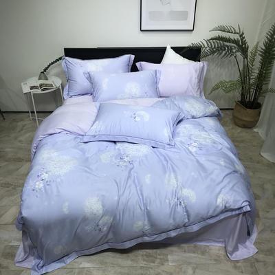 秋冬新品天丝磨毛系列 1.8m(6英尺)床 颂香-紫