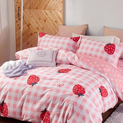 秋冬涂料磨毛系列 1.8m(6英尺)床 草莓派