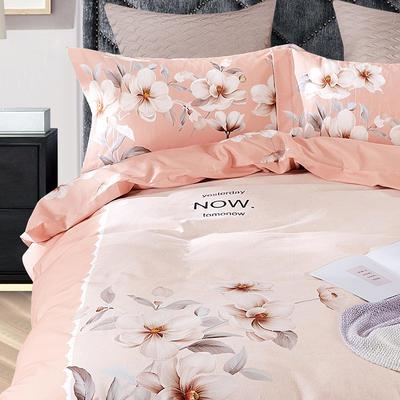 秋冬涂料磨毛系列 1.8m(6英尺)床 浪漫花都