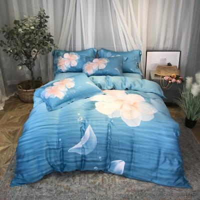 40天丝印花系列 1.8m(6英尺)床 惠兰