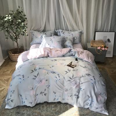 40天丝印花系列 1.8m(6英尺)床 嫣然-绿