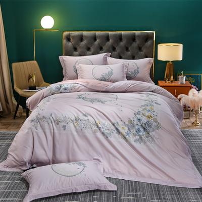 数码百支玺棉系列 2.0m(6.6英尺)床 繁花