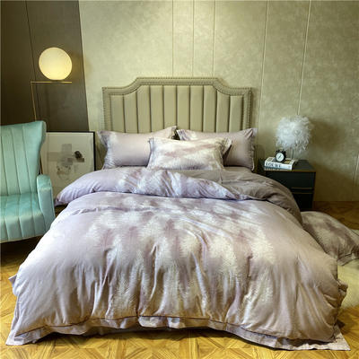丽维茸系列 2.2m(7英尺)床 秘境-粉