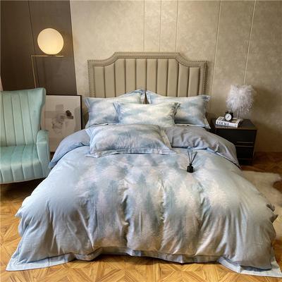 丽维茸系列 2.2m(7英尺)床 秘境-绿