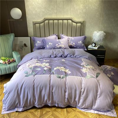 丽维茸系列 2.2m(7英尺)床 姿蕊-紫
