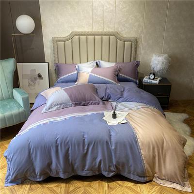 丽维茸系列 2.2m(7英尺)床 艾伯特-紫