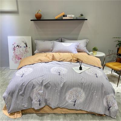 2020秋冬新品全棉磨毛系列 2.2m(7英尺)床 施尔特