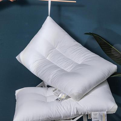 2020新款臻品水洗枕头枕芯(48*74cm/只) 白