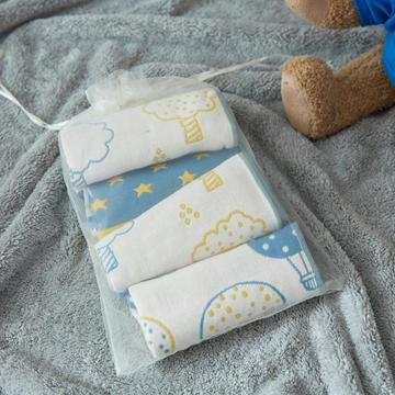 4条装童巾-星星树