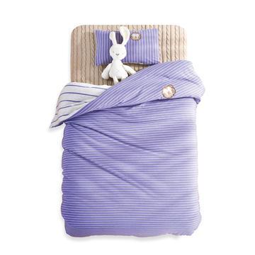 婴童床品套件 针织棉无印系列多件套