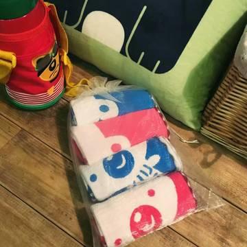 4条装纱布童巾-雪尼尔