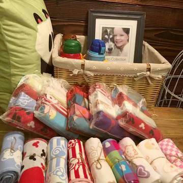 4条装纱布童巾-日单童巾,花型随机