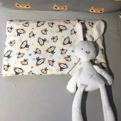全棉针织儿童枕头/枕套 小猴子(枕套+枕芯)
