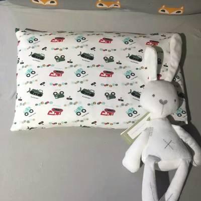 全棉针织儿童枕头/枕套 小汽车(单枕套)