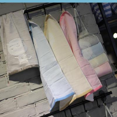 4条装纱布童巾-欢乐猫 25x75cm 欢乐猫