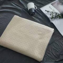 蜂窝纱布盖被 200X230cm 米色