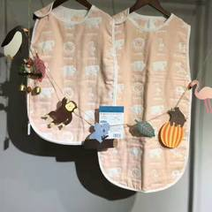 新款六层睡袋---公主系列 小40*60 精品动物园粉色