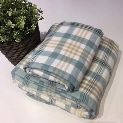 格尚生活浴巾2件套 绿色