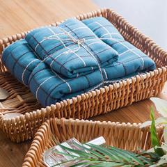 井子浴巾套 蓝色