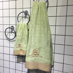 克罗地浴巾套 绿色
