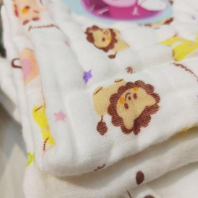 泡泡纱褶皱2条装方巾