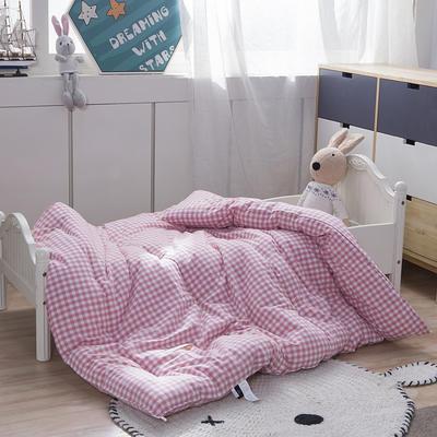 水洗棉冬被 120x150cm 粉色