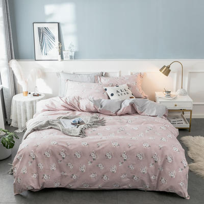 2019春臻棉四件套(第一批) 1.2m(4英尺)床(三件套) 莉香