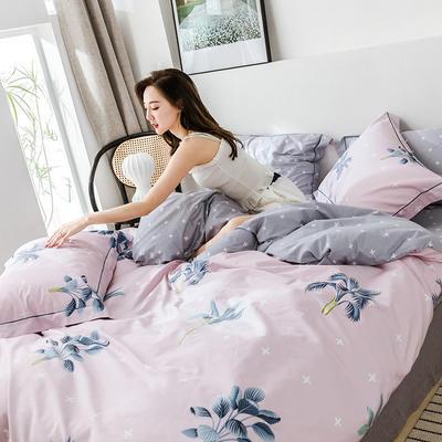 2019新款臻棉四件套(第四批) 1.8m床(四件套) 安娜物语