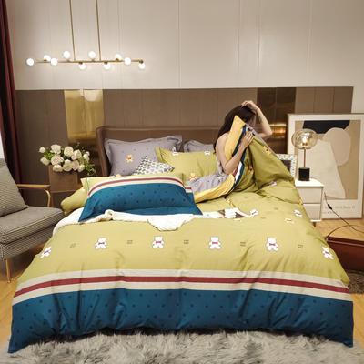 2020新款床单款床笠款四件套套件系列 1.5m床单款四件套 维尼