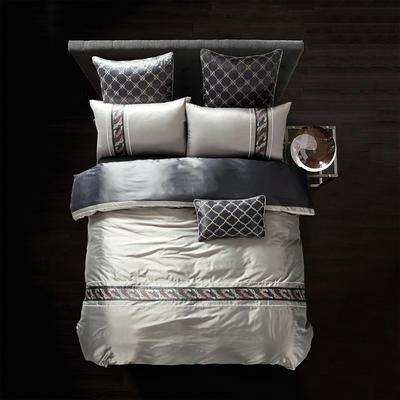 G+家纺 纯丝四件套 1.5m(5英尺)床 阿诺德