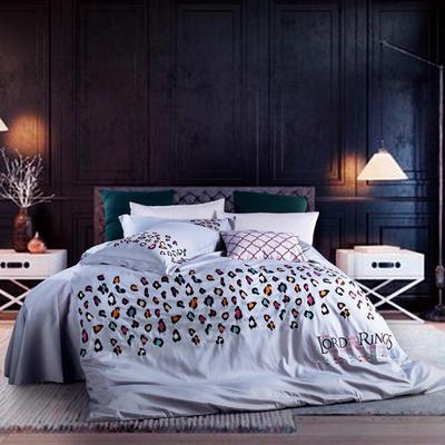 G+家纺 2017全棉绣花四件套 1.8m(6英尺)床 遐想