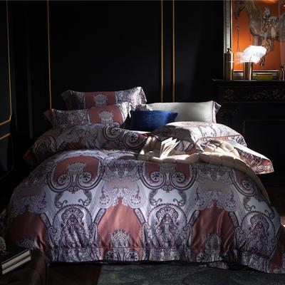 G+家纺 欧恋丝系列四件套 1.8m(6英尺)床 雅典娜