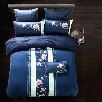 G+家纺 纯丝四件套 1.8m(6英尺)床 奥布里